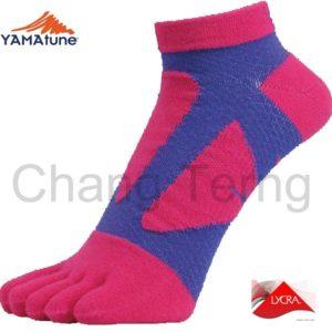 五趾襪-粉紅紫