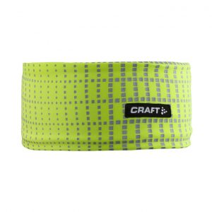 Craft 反光保暖頭帶 螢光黃