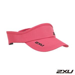 2XU 慢跑中空帽(可調式) 粉紅 01
