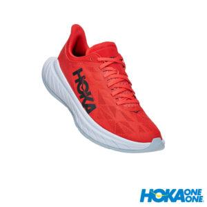HOKA ONE ONE Carbon X 2 路跑鞋 嘉年華紅白 男01